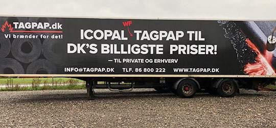 Tagpap - billigt WF ICOPAL brandgodkent tagpap